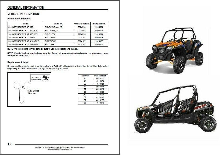 2013 polaris ranger rzr xp 900 xp 4 900 service repair owner s rh unisquare com 2012 polaris rzr 900 xp service manual pdf Polaris Ranger 900 XP