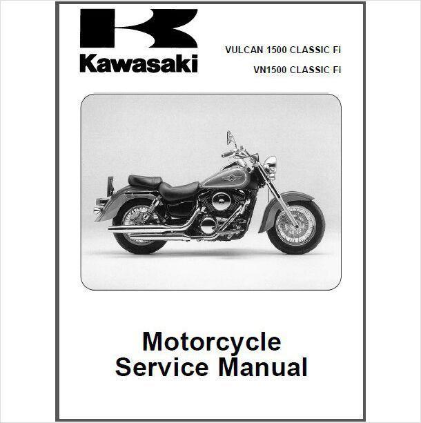 00 08 kawasaki vulcan 1500 vn1500 classic fi repair service manual rh unisquare com 1995 kawasaki vulcan 1500 service manual kawasaki vn 1500 owners manual