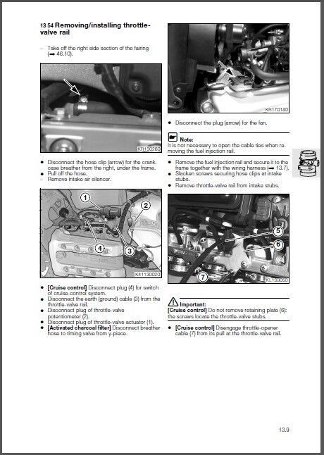 96-06 BMW K1200RS Service Repair Shop Manual CD - K 1200 RS K1200  Multilingual