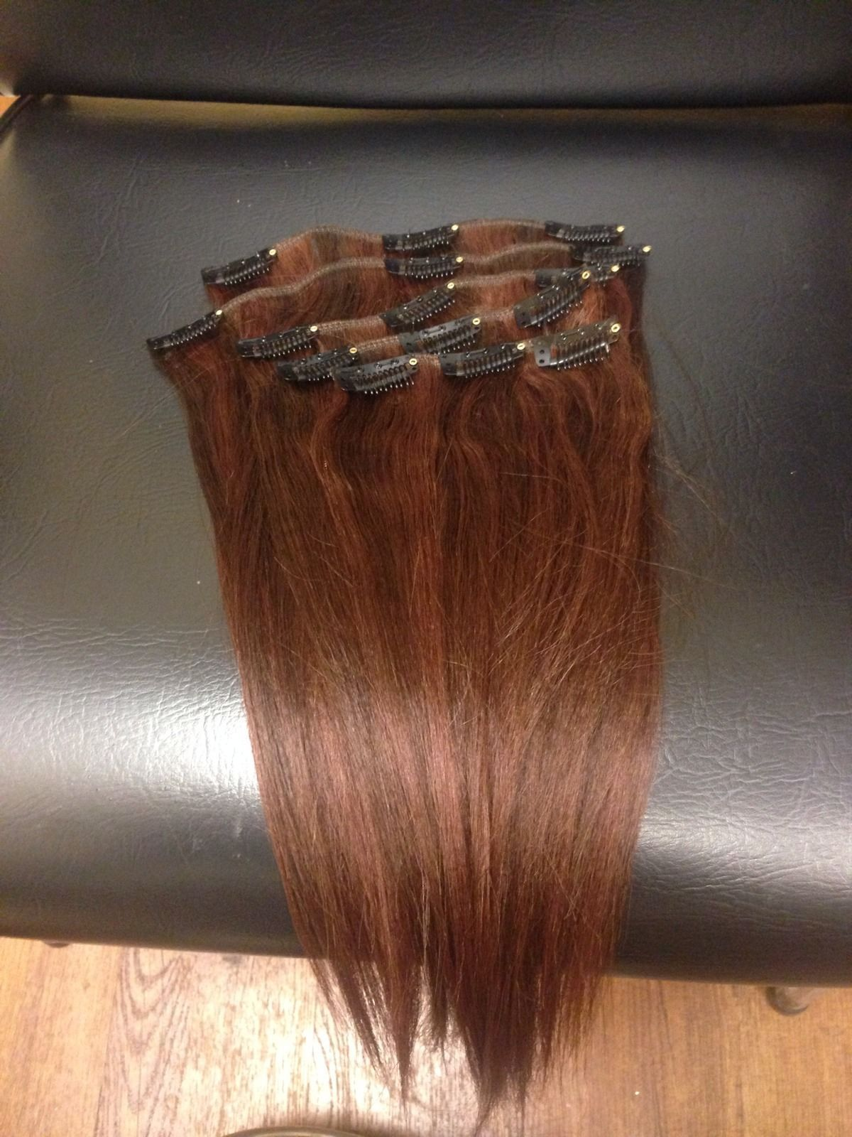 14 Inch Highlight Color 4/33 Clip In Hair Extensions ...