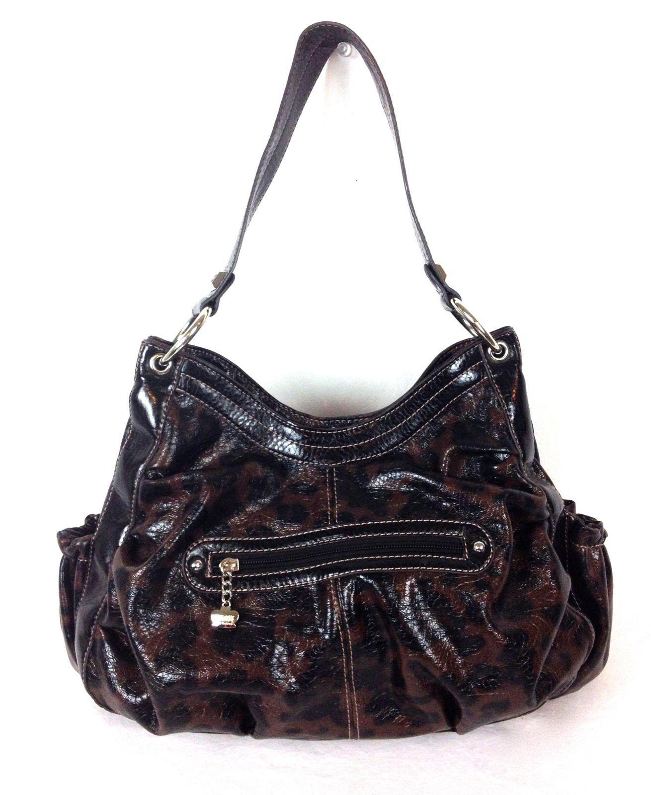 05e70119f Kathy Van Zeeland Purse Brown Handbag Hobo Womens For Sale - Item #1474170