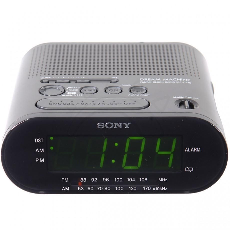 alarm clock model icf c218 sony dream machine music am fm radio rh unisquare com sony dream machine icf-c218 instructions sony dream machine c218 instructions