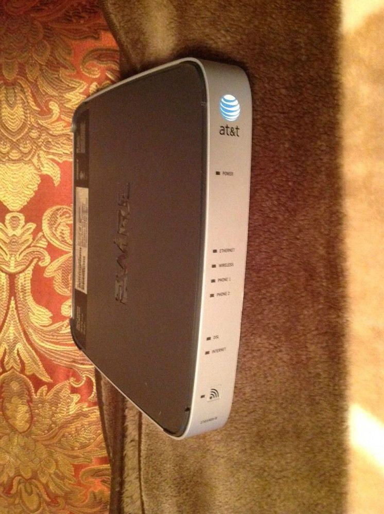 AT&T 2WIRE 2701HGV B Gateway WIRELESS G modem ROUTER DSL WiFi ...