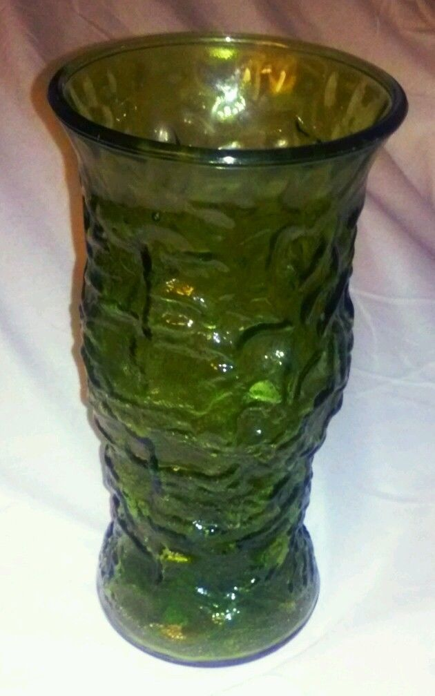 Euc E O Brody Co Green Glass Vase For Sale Item 1443659