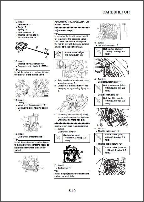 yamaha wr250 wr250fr 2005 repair service manual