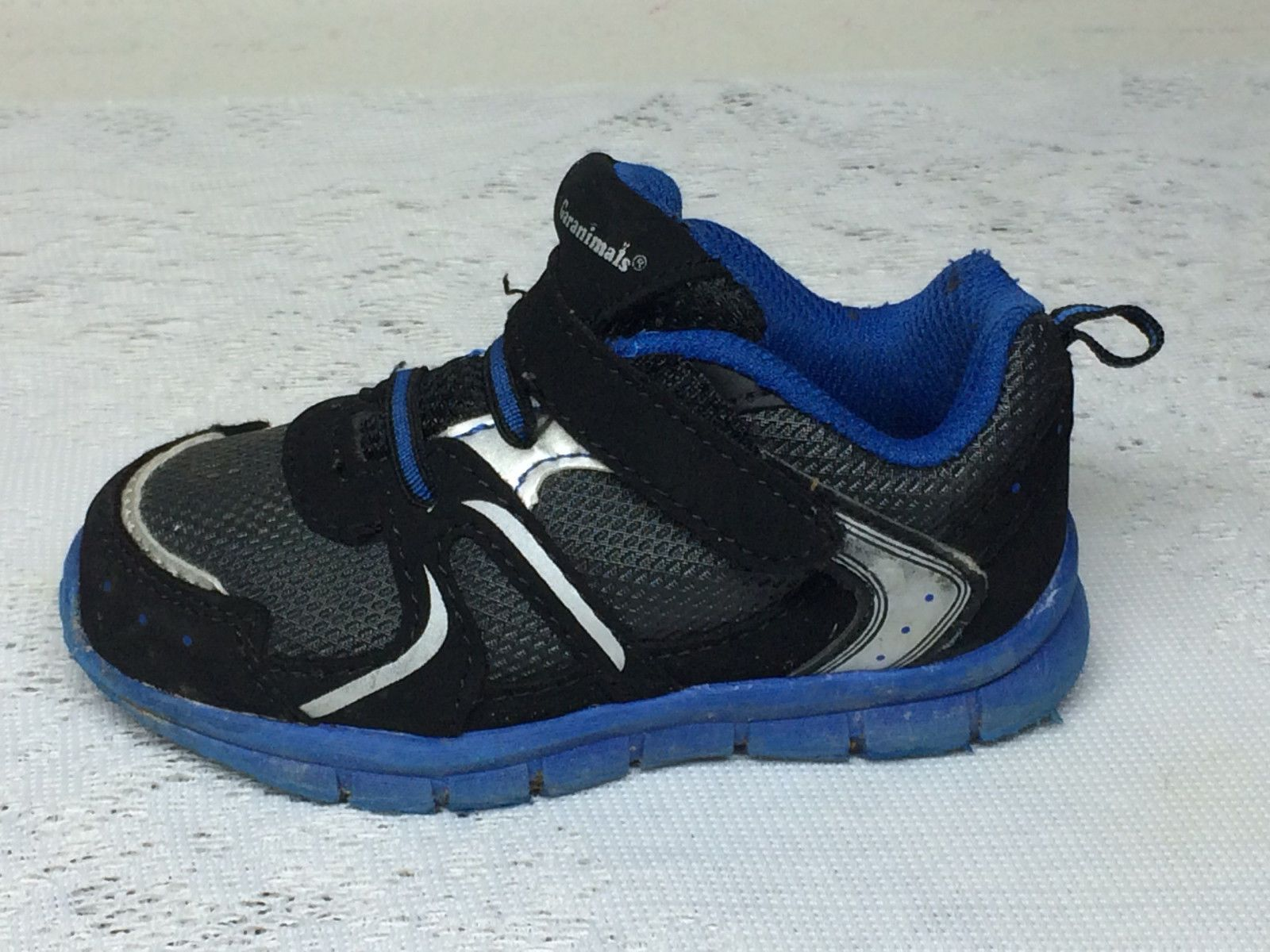 294878549c0 ... GARANIMALS TODDLER BOYS BLUE AND BLACK TENNIS SHOES SNEAKERS US SIZE 6  For Sale - Item