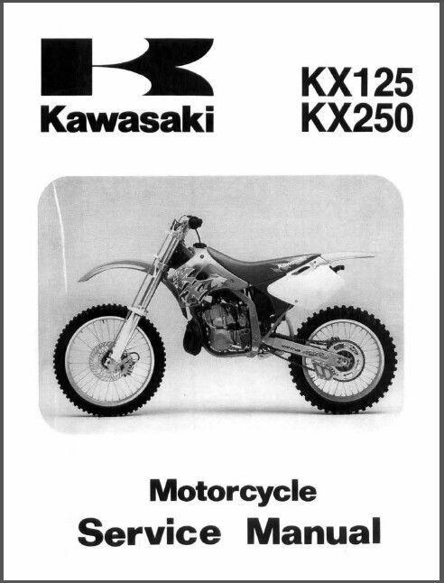 94 98 kawasaki kx125 kx250 service repair workshop manual cd kx rh unisquare com 2003 kawasaki kx125 service manual pdf 2003 kx 125 service manual pdf