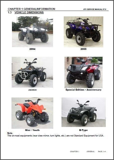 suzuki lt z250 2004 2009 service repair manual pdf