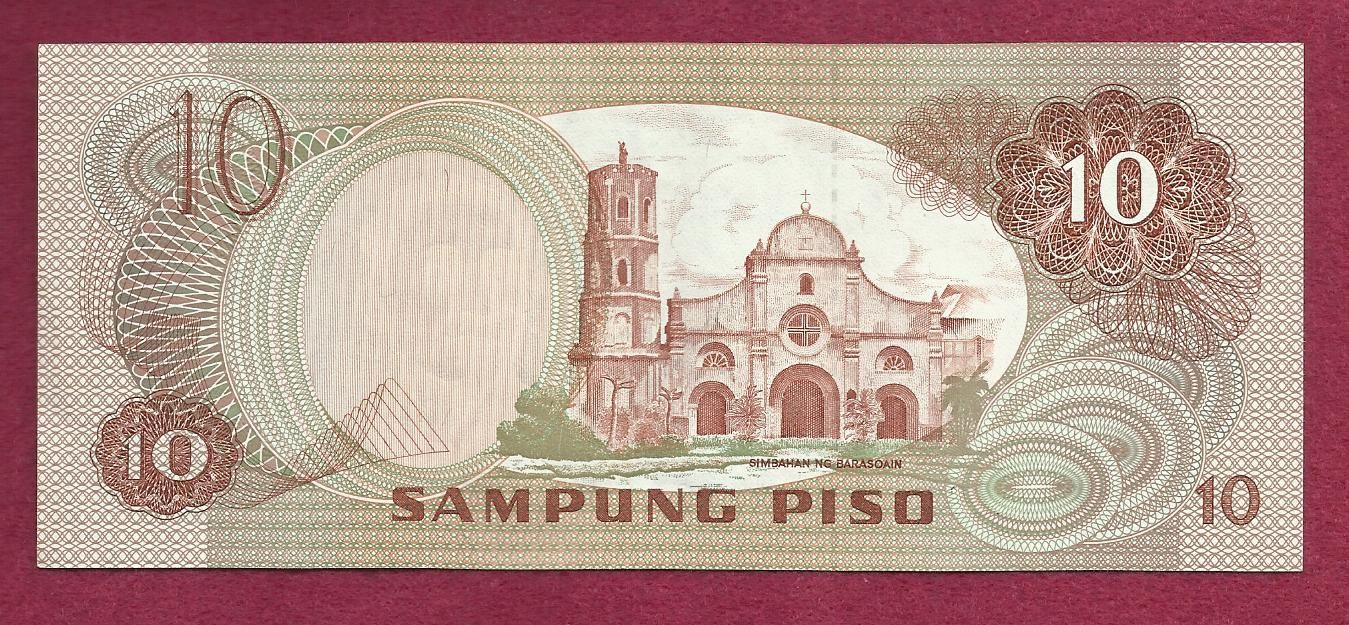 Philippines 10 Sampung Piso 1949 Banknote Tx651139 For