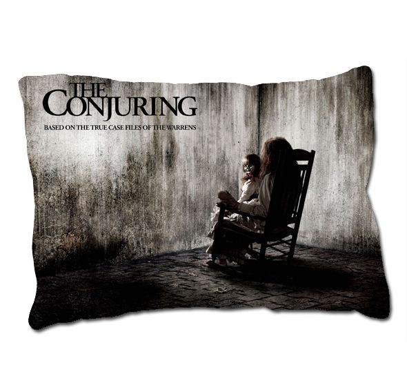 Hot Annabelle The Doll Movie The Conjuring Horror Movie Pillow Case Cover  GIFT