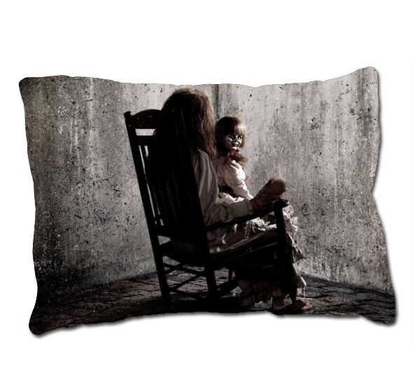 annabelle the doll movie the conjuring horror movie pillow case cover christmas gift - Annabelle Christmas