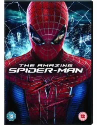 The Amazing Spider-Man DVD 2012 Age 12 Rated