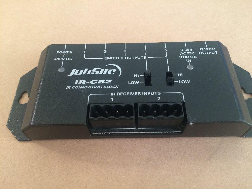 jobsite ir cb2 remote concealed two zone dual input ir connecting rh unisquare com Radio Shack RC Trucks radio shack wireless remote control extender 15-1959 manual