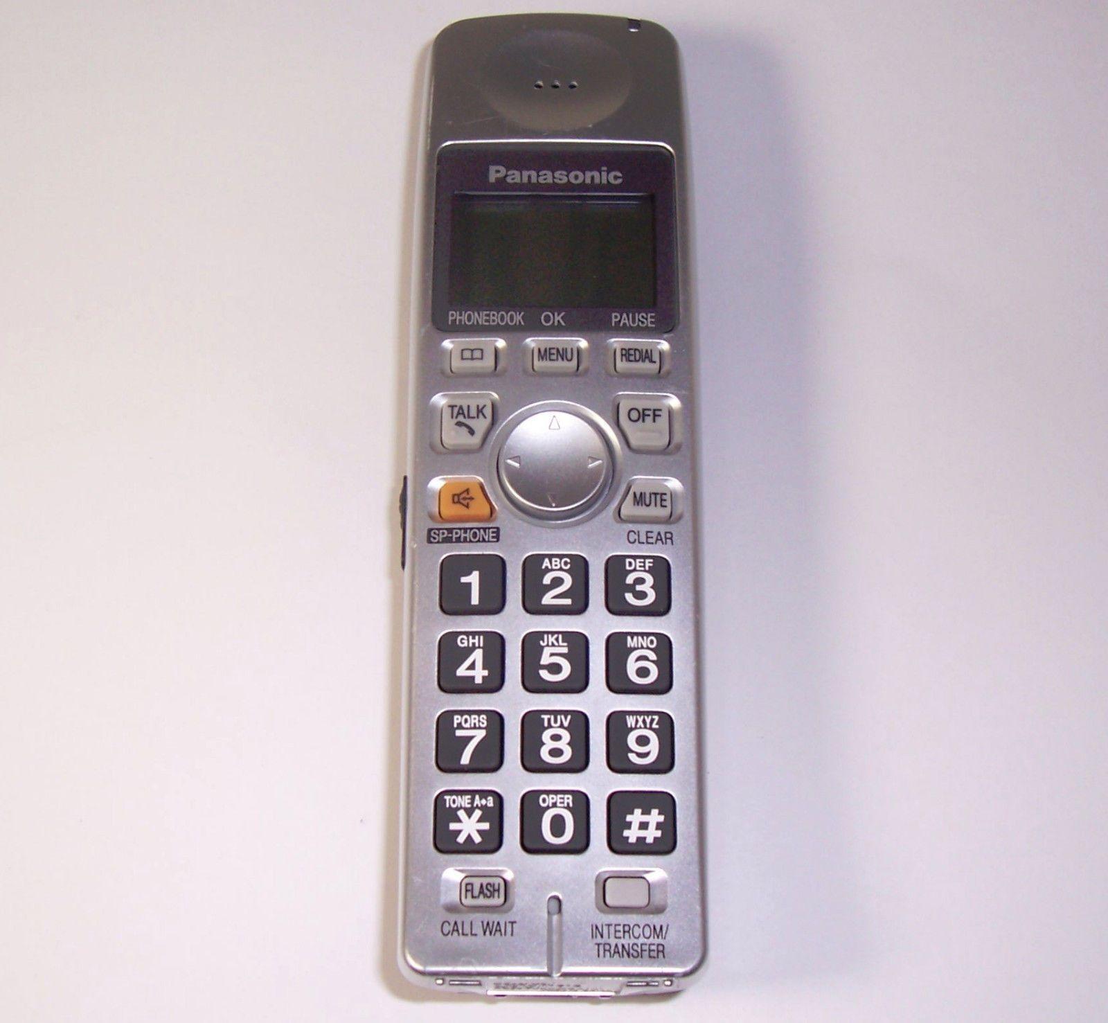panasonic kx tga101s handset kx tg1035s pqlv30053zas cordless rh unisquare com panasonic kx tga101cs user guide panasonic kx-tga101cs user manual