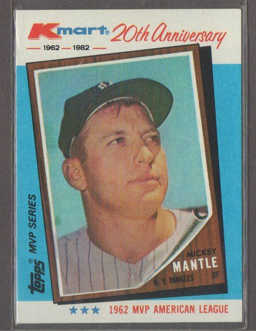 Mickey Mantle Kmart 20th Anniversary 1