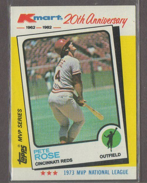Pete Rose Kmart 20th Anniversary 24