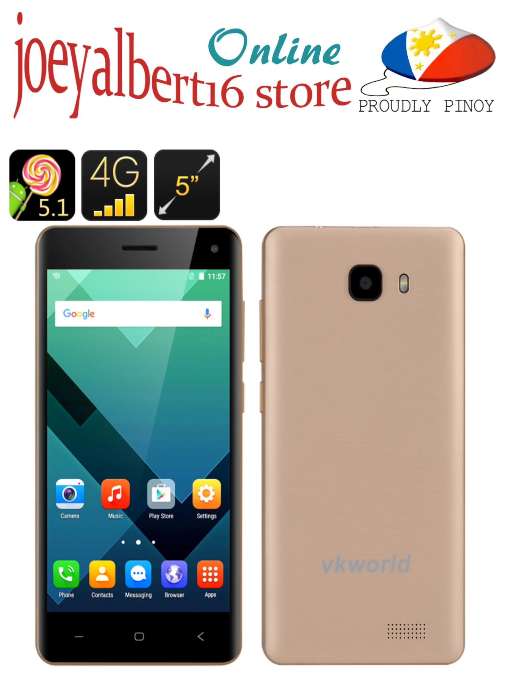 Vkworld t5 se smartphone 5 inch hd screen android 51 4g3g2g vkworld t5 se smartphone 5 inch hd screen android 51 4g fandeluxe Images
