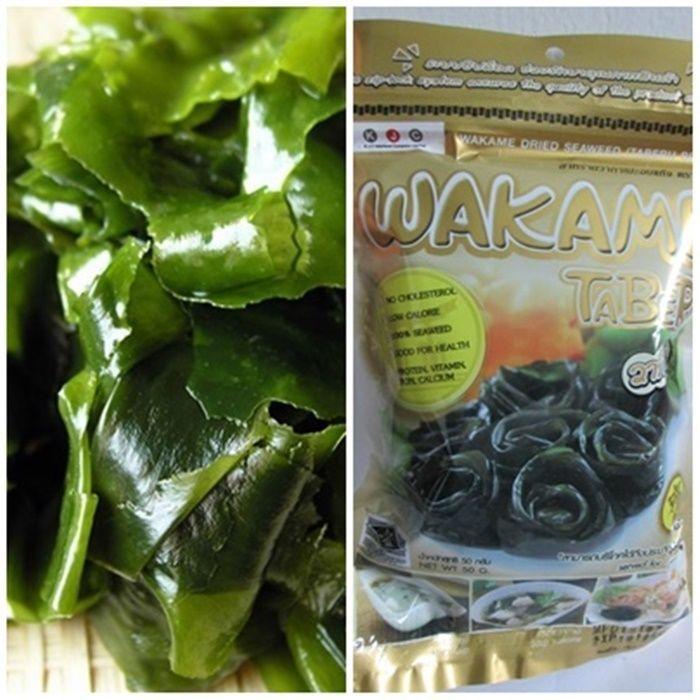 Wakame Dried Seaweed JAPAN Halal Food 1 7 oz 50 g for Miso Soup Udon Ramen  Salad