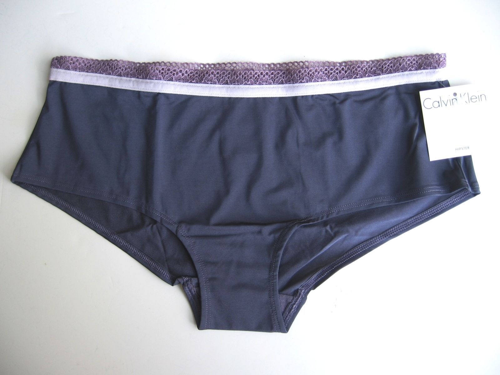 www.prominentresults.com :A0040 Calvin Klein NEW Women's Stretch Silky Smooth Microfiber Hipster D3259D M L