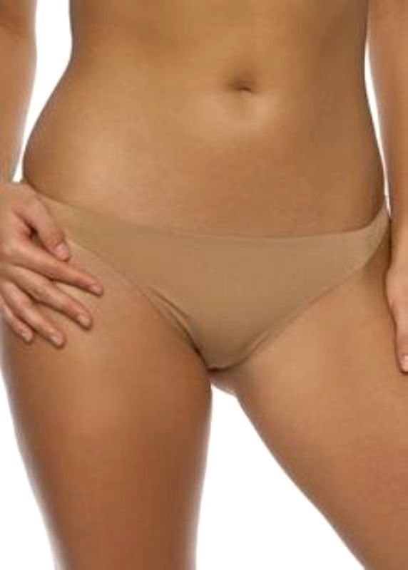www.prominentresults.com :X0014 Felina Intimates NEW 612P Copper Bra of the Year Seamless Sheen Tagless Thong M