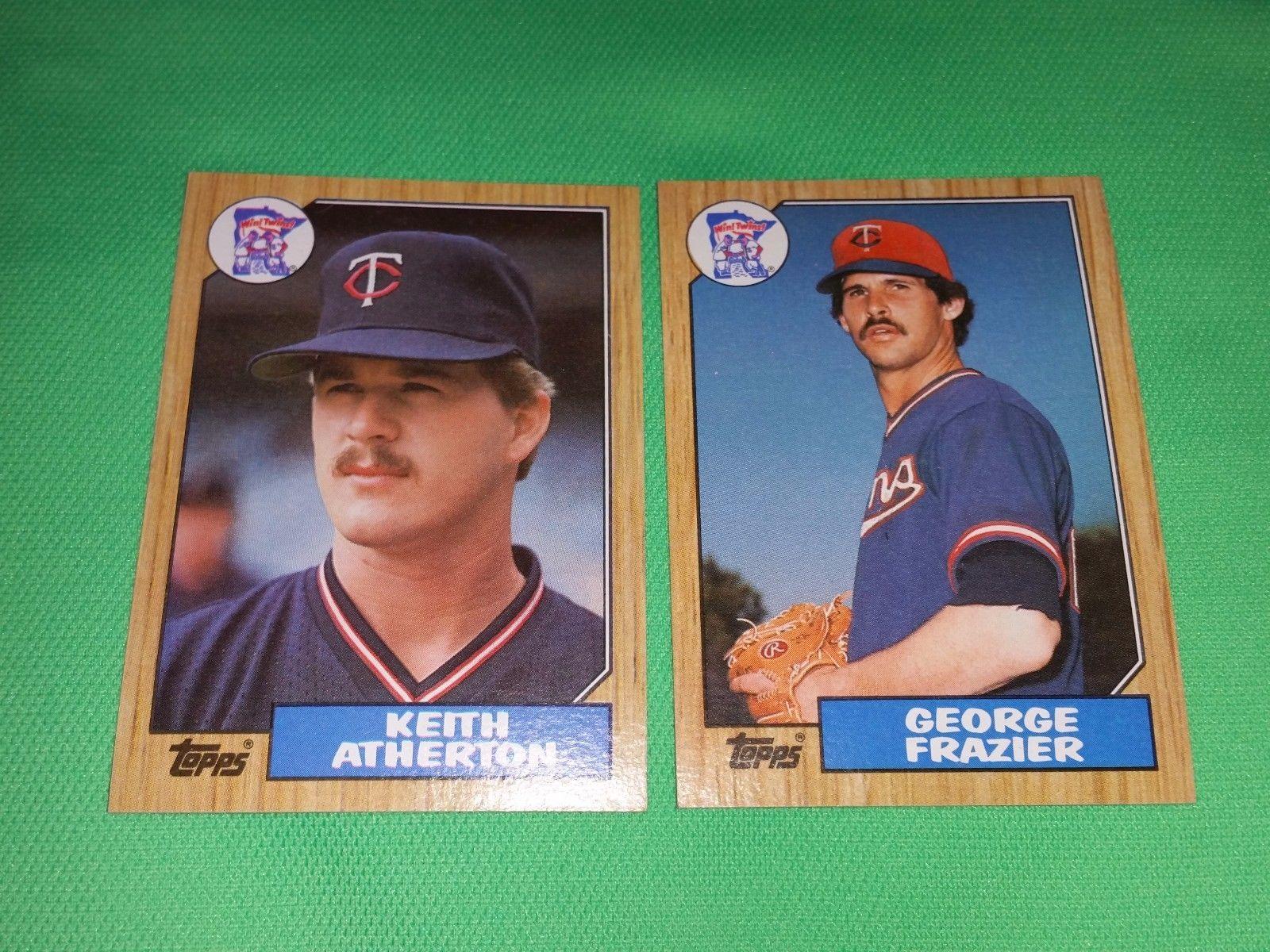 Vintage 1987 Topps Baseball Card Lot 11 Gd Vg