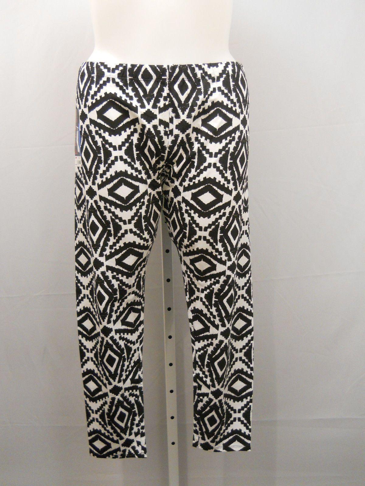 eda94dc5ccfea1 PLUS SIZE 4X Womens Ankle Leggings NO BOUNDARIES Mid Rise Aztec Print Inseam  29 For Sale - Item #1645695