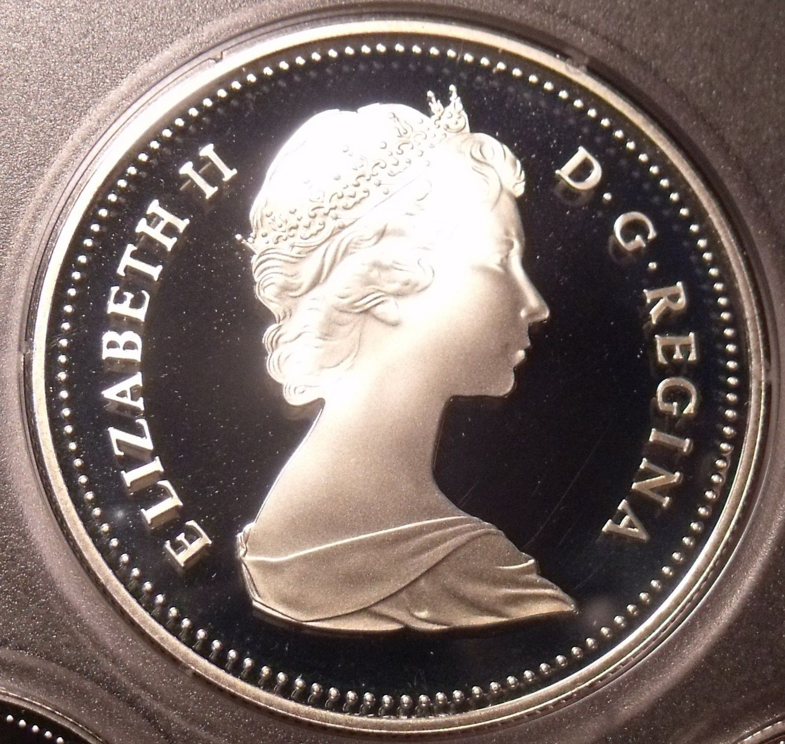 2011 CANADA 5 CENTS PROOF SILVER NICKEL HEAVY CAMEO COIN