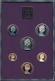 Scarce Gem Cameo Proof Great Britain 1986 20 Pence~7 Sided Coin~Free Shipping