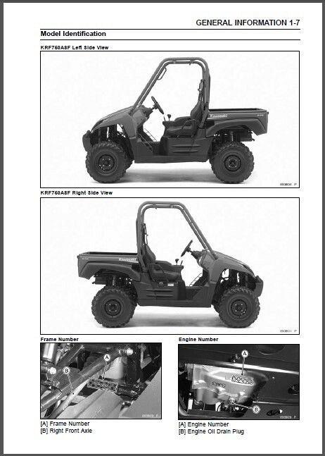 teryx 4 service manual