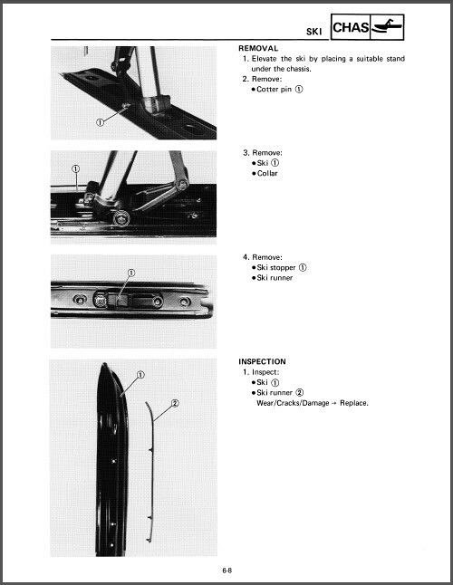 1989 1999 yamaha ovation 340 cs340 snowmobile service manual on rh unisquare com 1990 Yamaha Ovation 1996 Yamaha Ovation