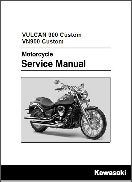 2007 2015 Kawasaki VN900 Vulcan 900 Custom Service Manual CD