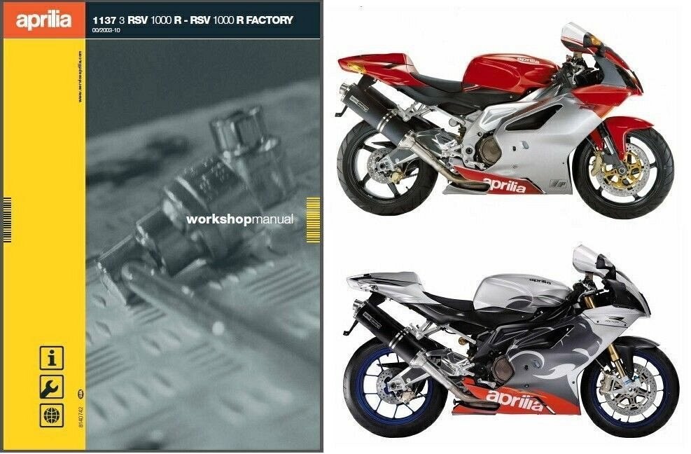 04 10 aprilia rsv 1000 r factory service repair manual cd rh unisquare com 2006 Aprilia RSV 1000 aprilia rsv 1000 engine service manual