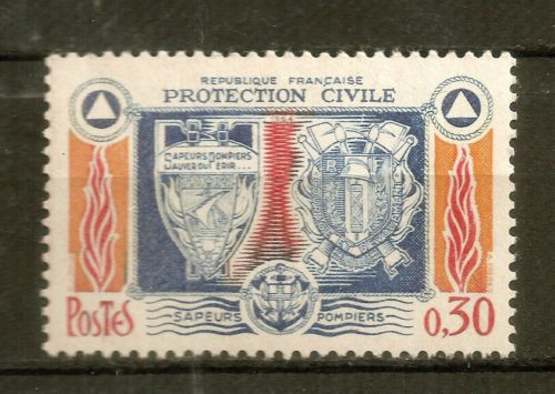 Civil Protection Toys : France civil protection mnh for sale item