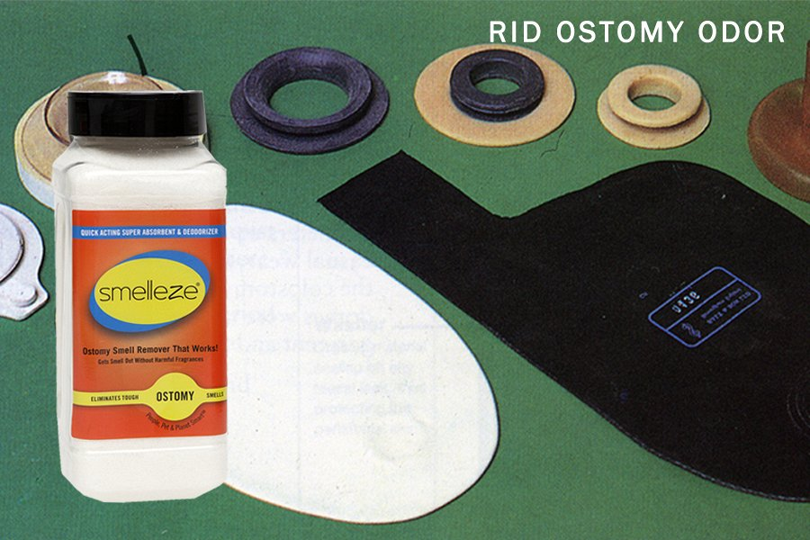 how to get rid of ostomy odor