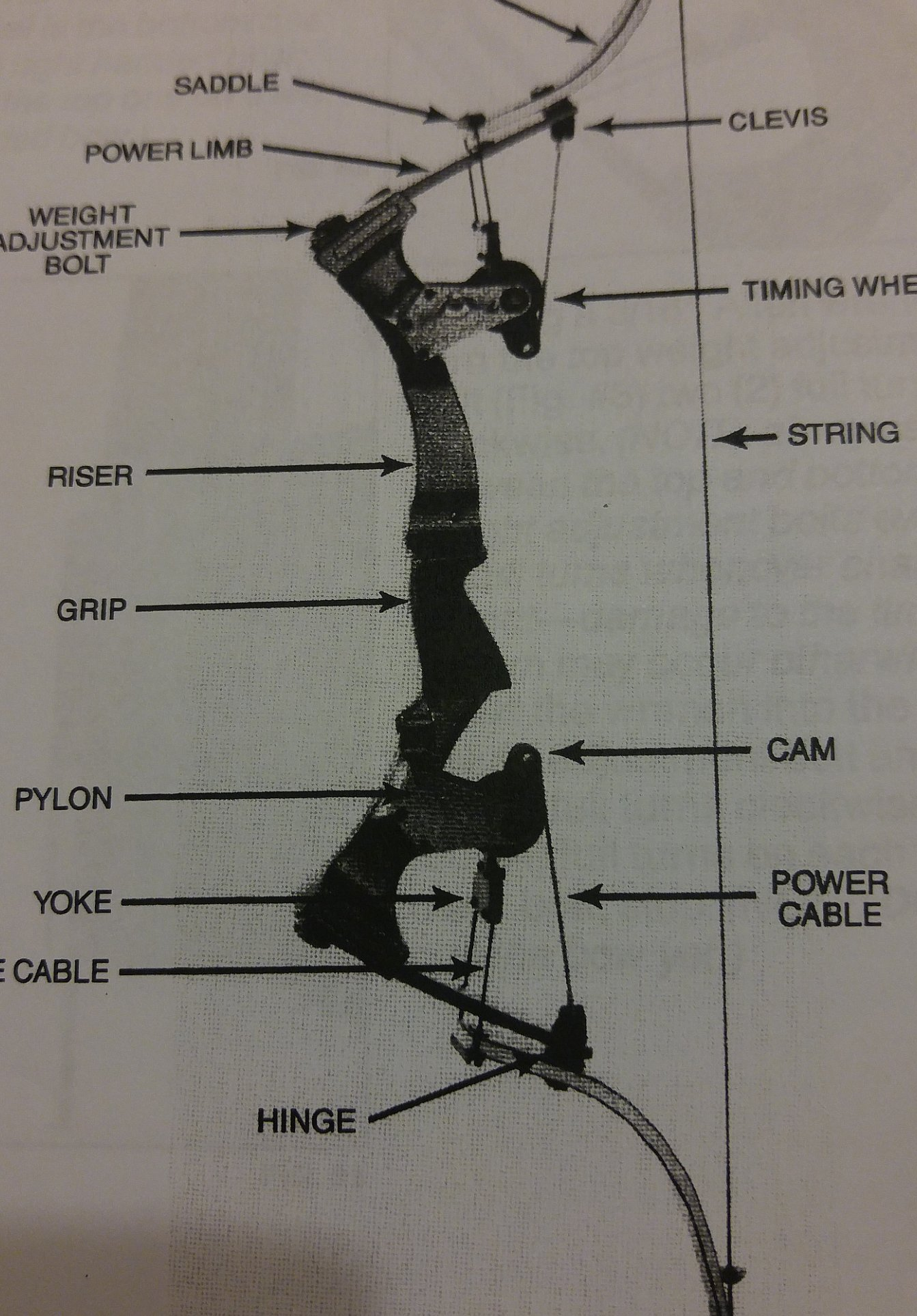 Oneida Eagle Bows Instruction Bow Manual from the 90's Great Info Bow Repair