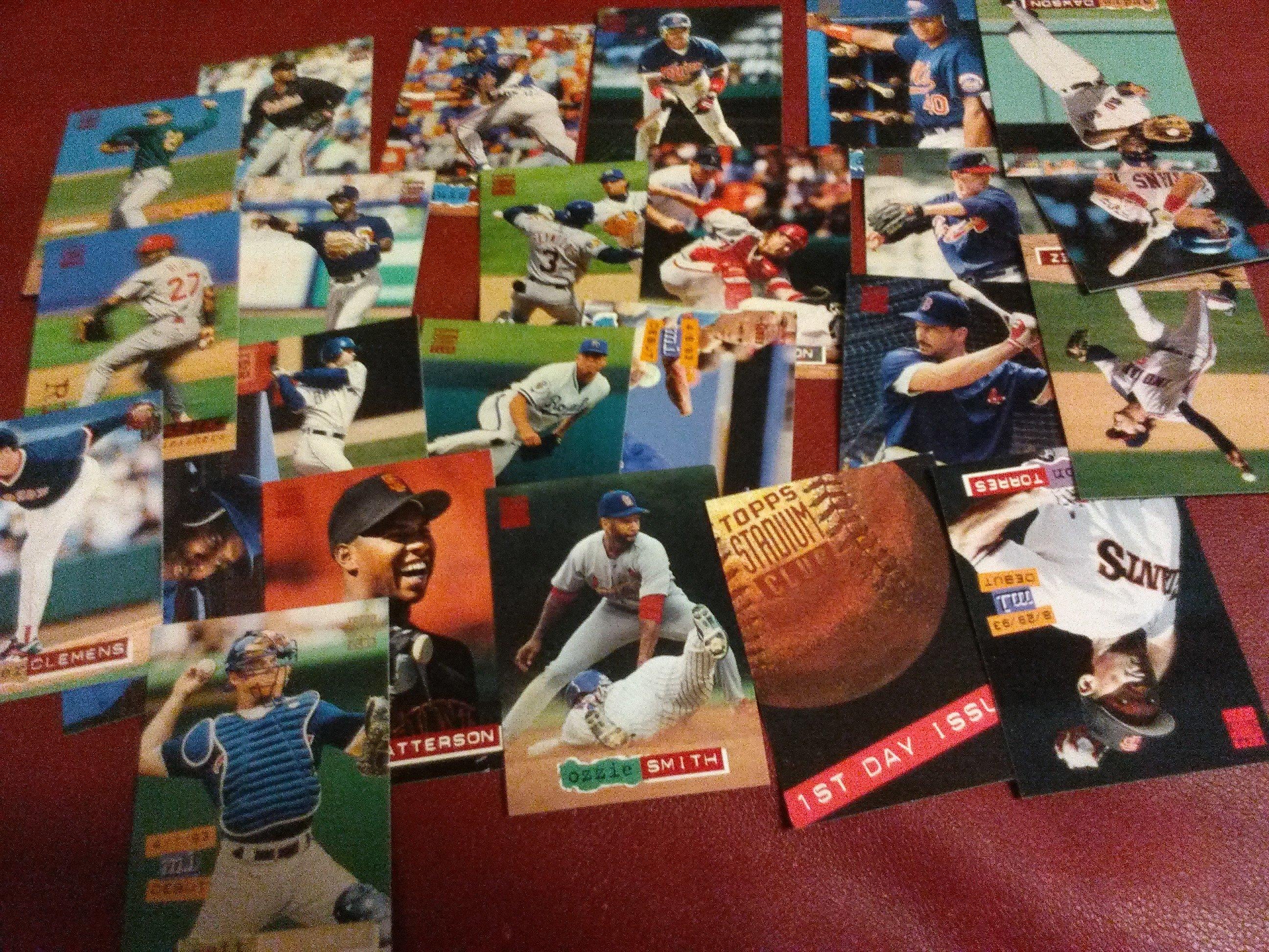 Baseball Card Lot Of 24