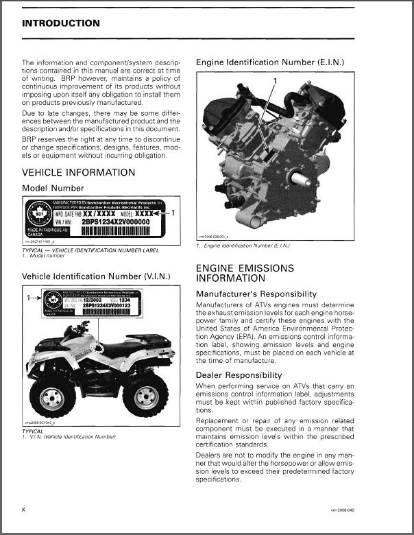 Can Am Outlander 400 Service Manual Pdf