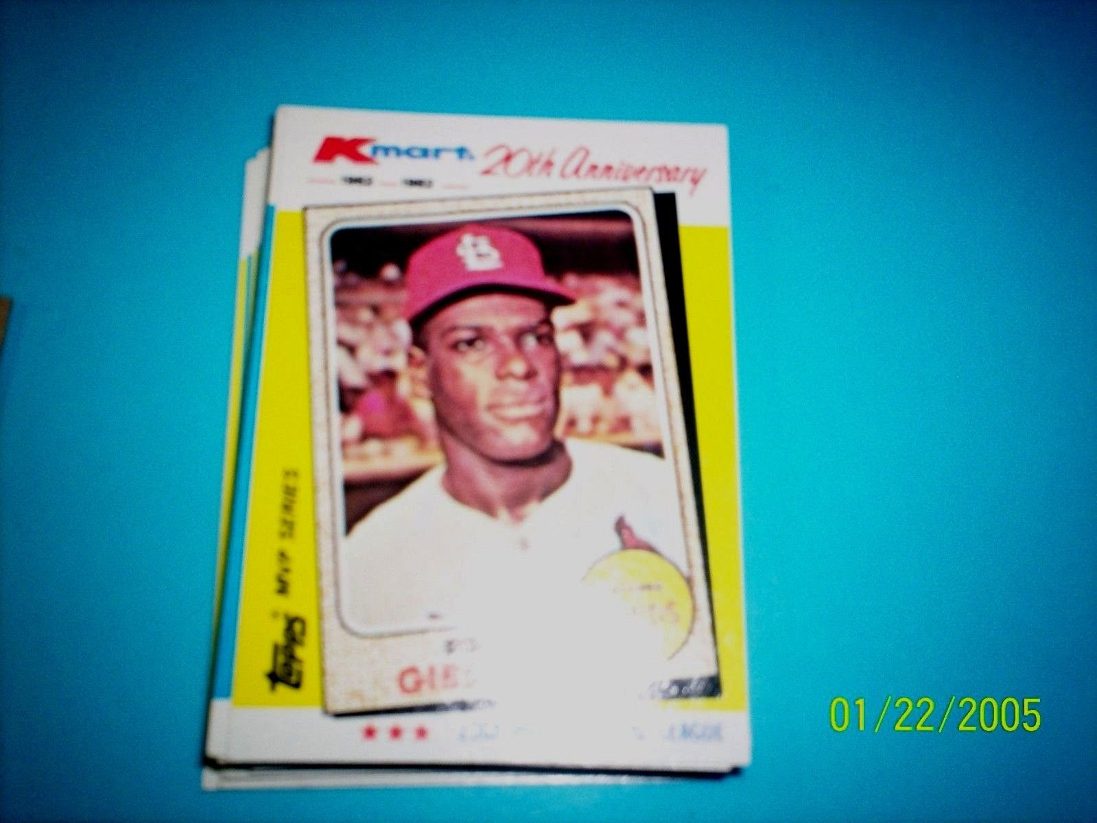 Bob Gibson Cardinals 1982 Topps Kmart 20th Anniversary 14 Of 44