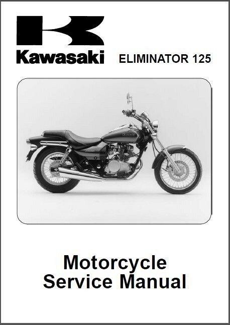 1998 2007 kawasaki eliminator 125 service manual on a cd for sale rh unisquare com kawasaki eliminator 250 service manual download kawasaki eliminator 250 service manual pdf