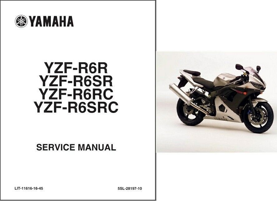 Yamaha r6 2005 service manual