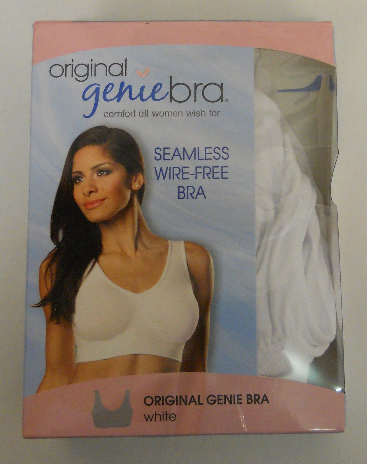f538f8d9a BRA 2X Women Seamless Bra GENIE BRA White Wire Free Padded Cups As Seen on  TV For Sale - Item  1749593