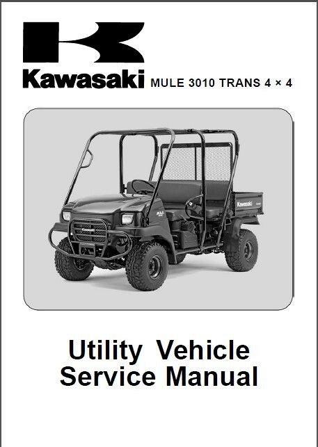 31 Kawasaki Mule 3010 Parts Diagram