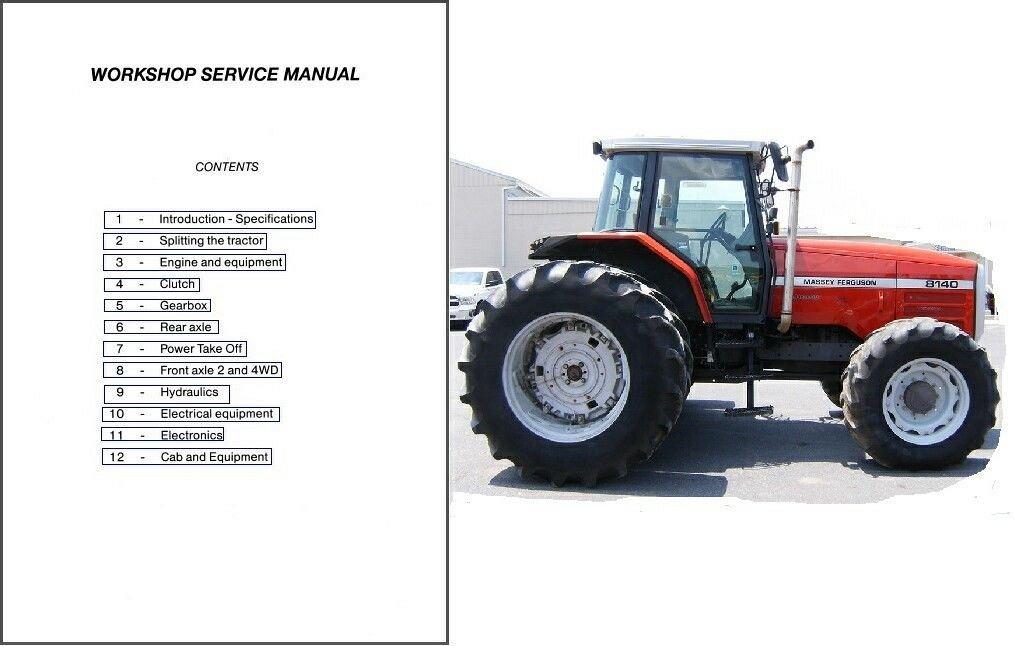massey ferguson 8100 series 8110 8120 8130 8140 8150 8160 rh unisquare com Massey Ferguson 1135 Massey Ferguson 8160 with Dual Tires