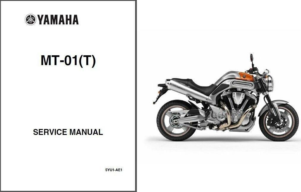 05 09 yamaha mt 01 service repair workshop owner s manual cd rh unisquare com Yamaha MT-09 Yamaha MT-09