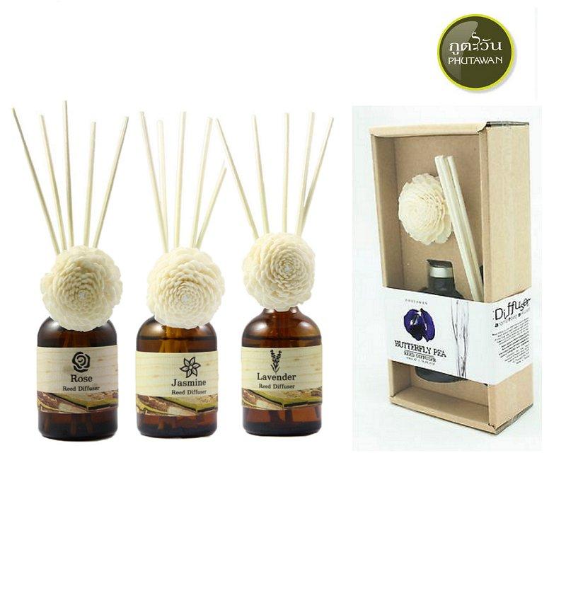 Phutawan Aroma Home Diffuser Reed Essential Oil Moke