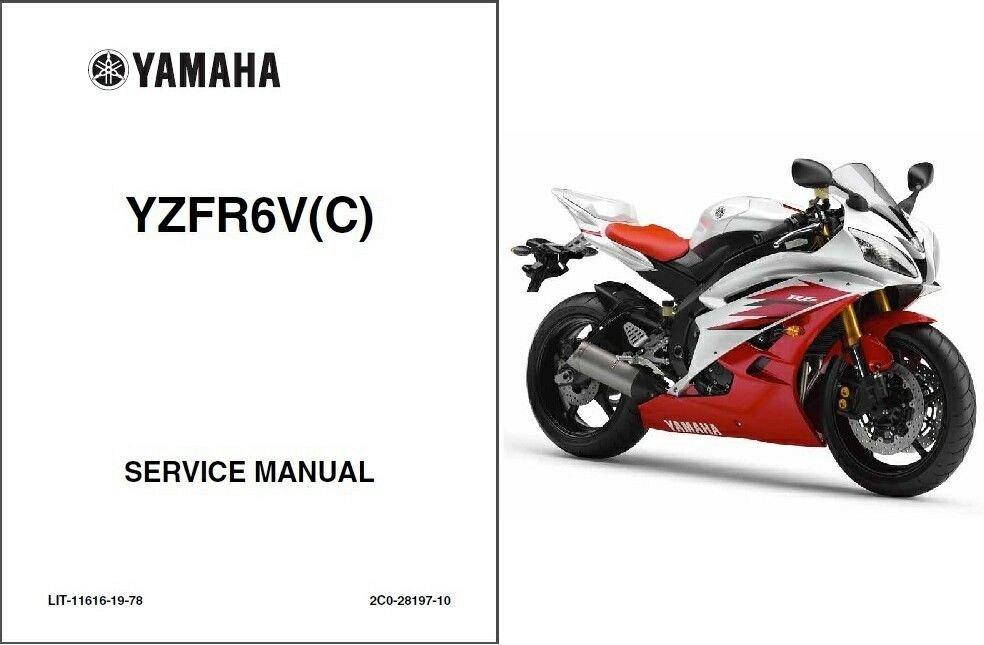 2006 2007 yamaha yzf r6 yzf r6s service repair workshop manual cd rh unisquare com 2007 yzf r6 service manual 2007 yamaha r6 service manual