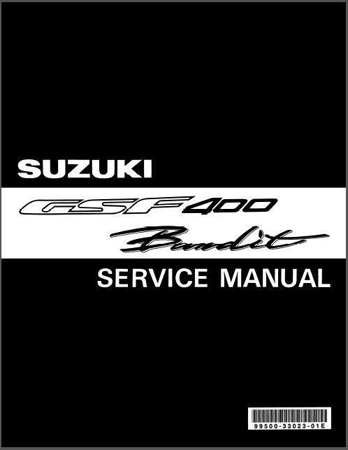 91 97 Suzuki Gsf400 Bandit Service Repair Manual Cd Gsf 400 For Sale