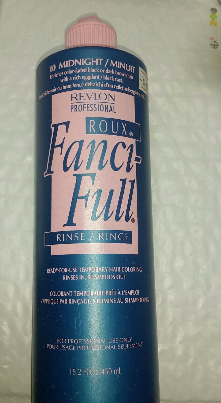 Roux Fanci Full Color Rinse 152 Oz Midnight 10 Original Dark
