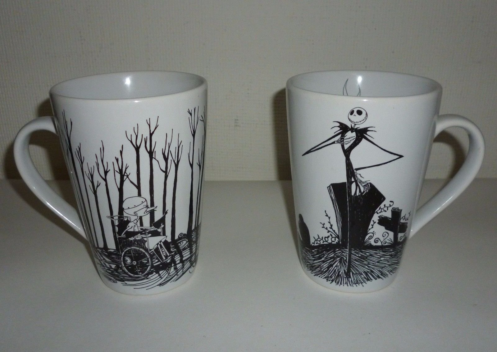 Set of 2 Disney Nightmare Before Christmas Sally Jack Skellington ...