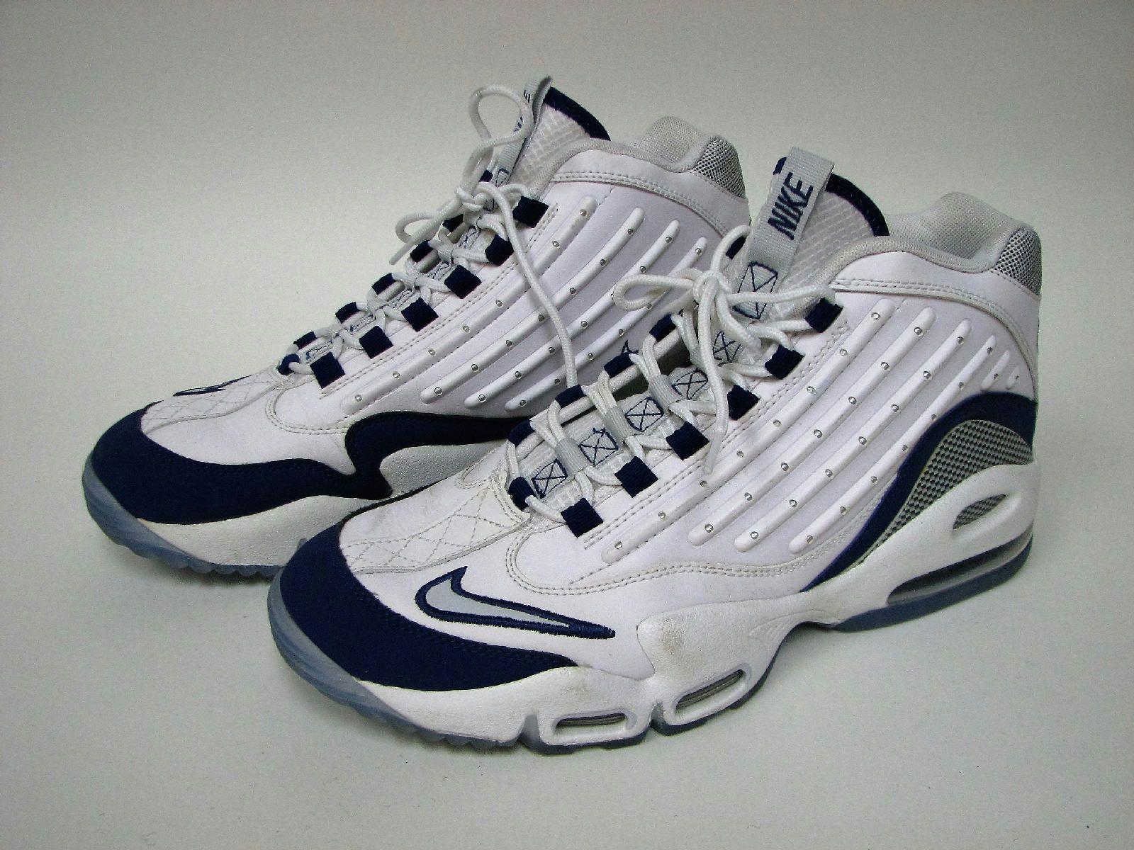 Nike Air Griffey Max II Ken Griffey Jr 442171 102 White Royal Blue Mens Size 12